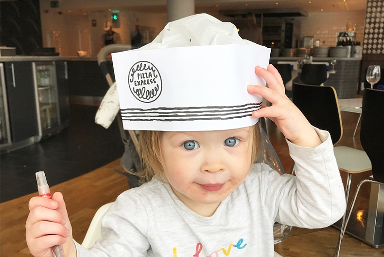 PIZZA EXPRESS SPRING MENU WITH GRACE GRANT
