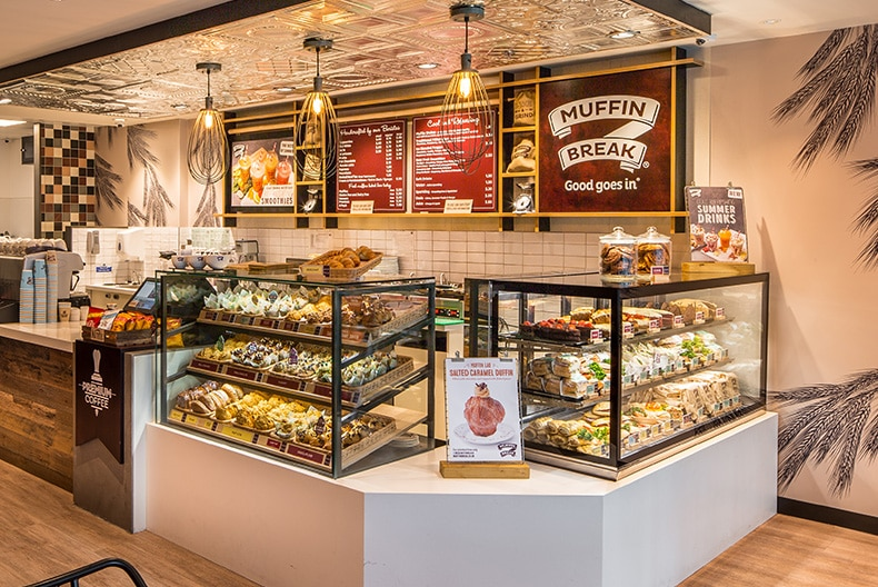 GREAT OFFERS AVAILABLE AT MUFFIN BREAK