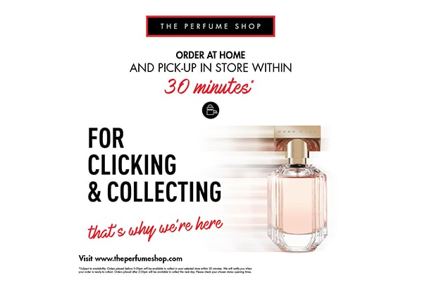 The Perfume Shop CLICK & COLLECT WITHIN 30 MINS