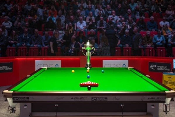 SENIOR SNOOKER CHAMPIONSHIP AT PQ