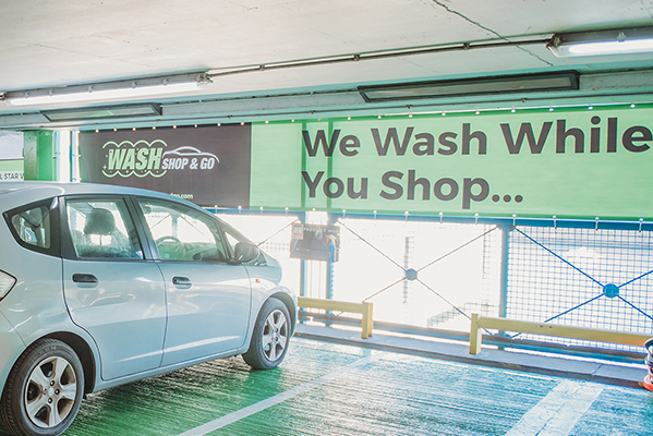 Wash Shop & Go 5 STAR+ VALET WAS £35, NOW £28!