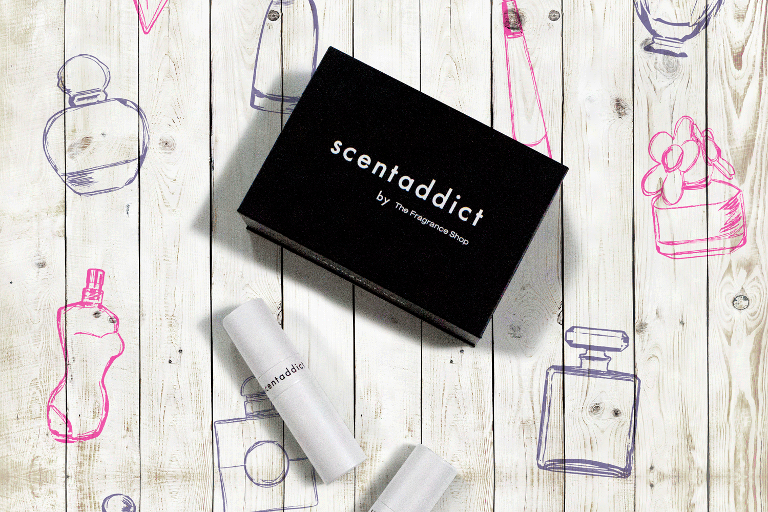 The Fragrance Shop SCENTADDICT SUBSCRIPTION SERVICE JUST £12
