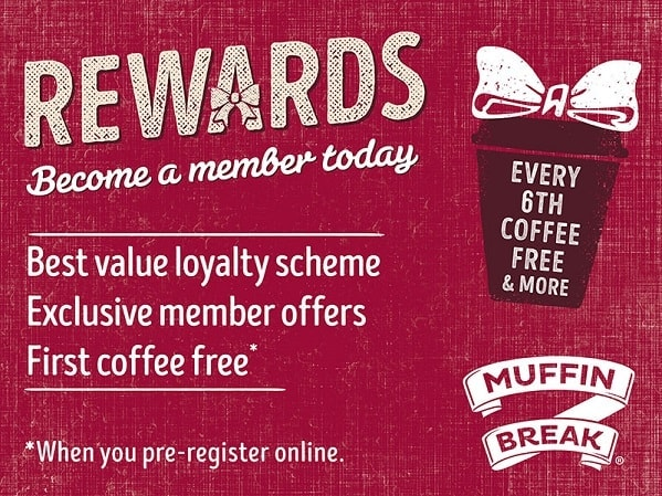 Muffin Break REWARDS CARD