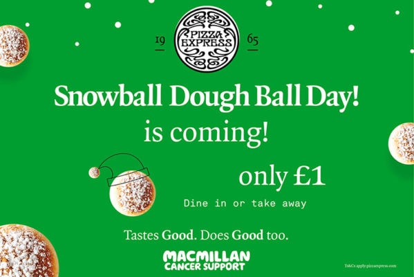 SNOWBALL DOUGH BALL DAY