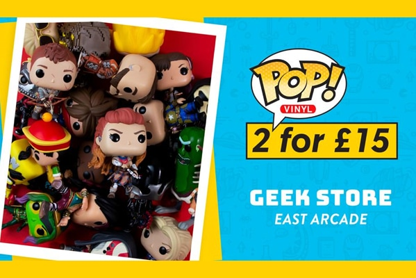 Geek Store POP VINYL | 2 FOR £15